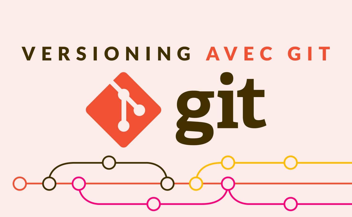 Formation Développeur Web Versioning Git