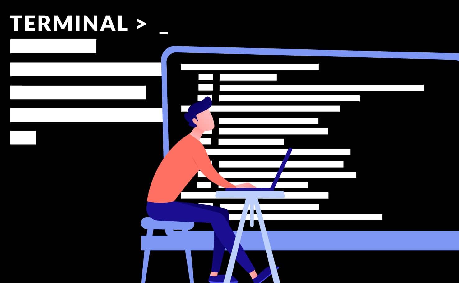 Article abordant la notion de console et terminal dans le monde informatique